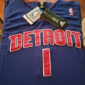 Chauncey Billups Detroit Pistons Basketball Jersey